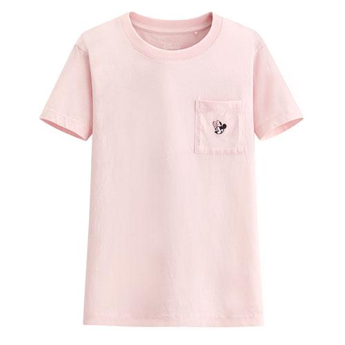 迪士尼系列口袋印花T恤-10-女