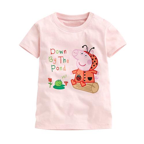 Peppa Pig印花T恤-02-小童