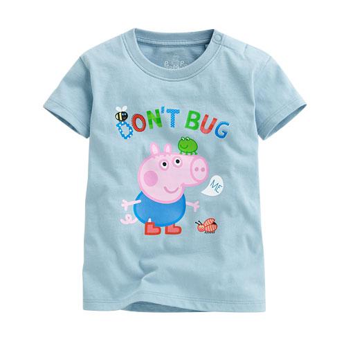 Peppa Pig印花T恤-03-小童