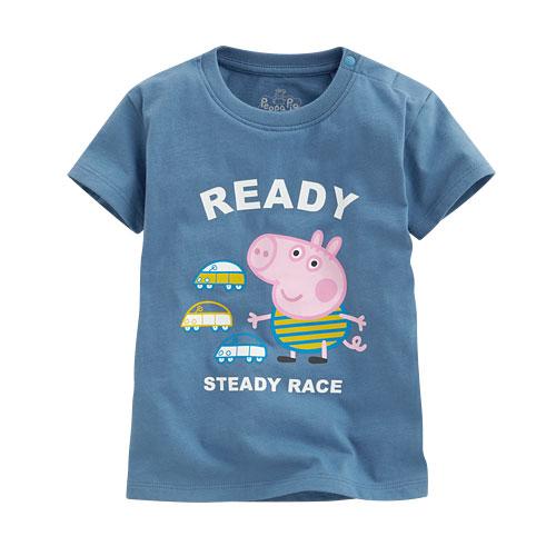 Peppa Pig印花T恤-04-小童