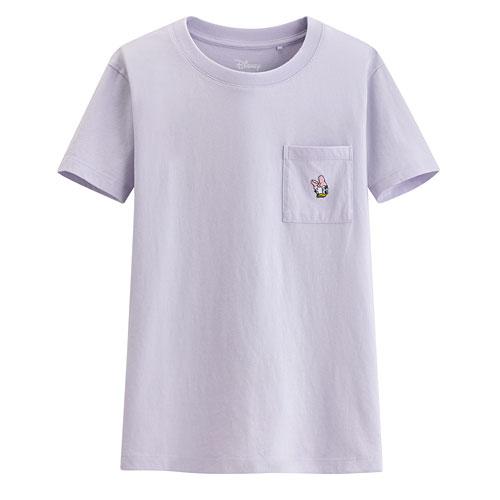迪士尼系列口袋印花T恤-11-女