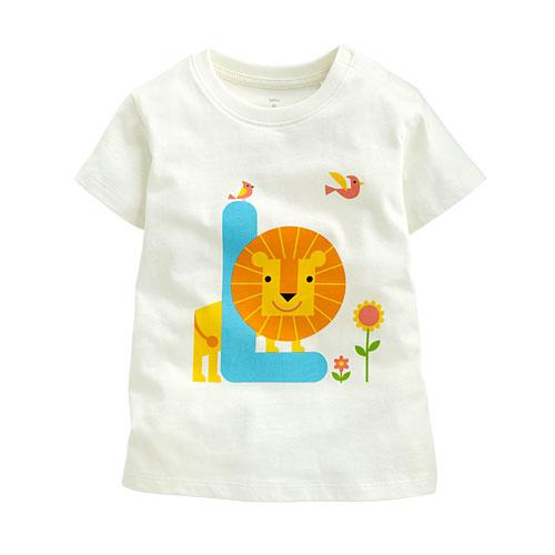 獅子印花T恤-Baby