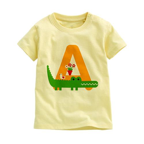 鱷魚印花T恤-Baby