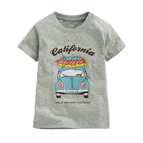 衝浪老爺車印花T恤-Baby