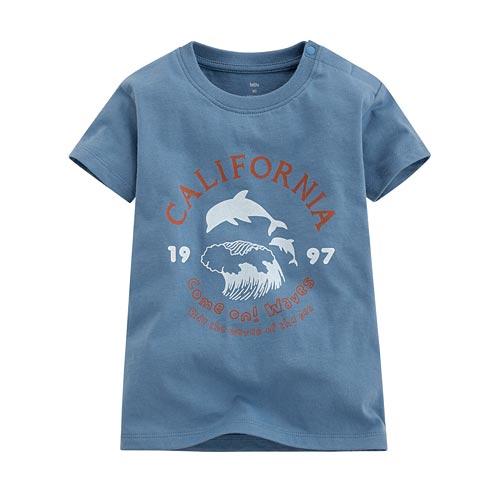 加州衝浪印花T恤-Baby