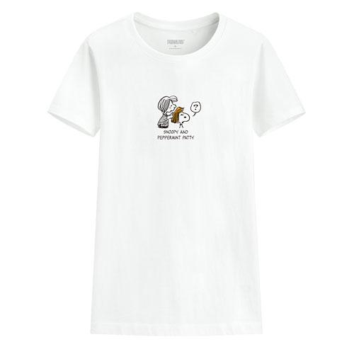 史努比印花T恤-22-女