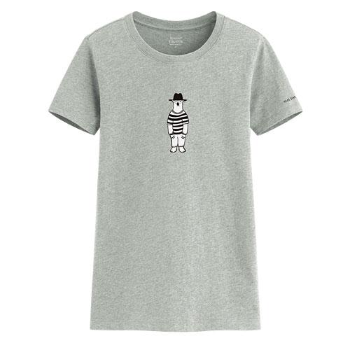 Polar Bear Benjamin印花T恤-03-女