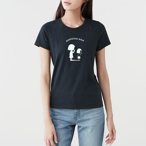 櫻桃小丸子印花T恤-10-女