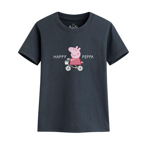Peppa Pig印花T恤-13-童