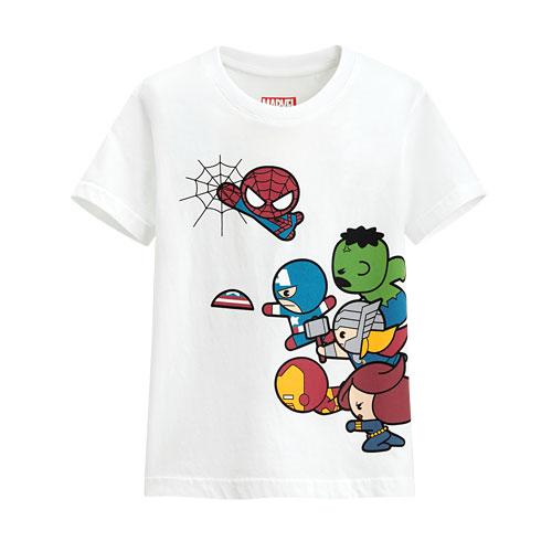 漫威系列印花T恤-06-童