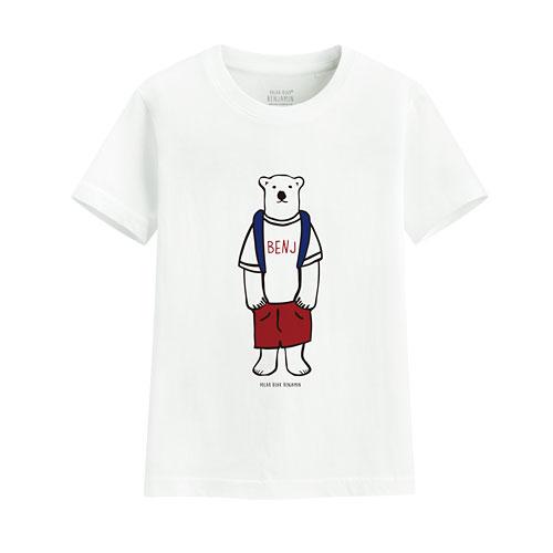 Polar Bear Benjamin印花T恤-09-童