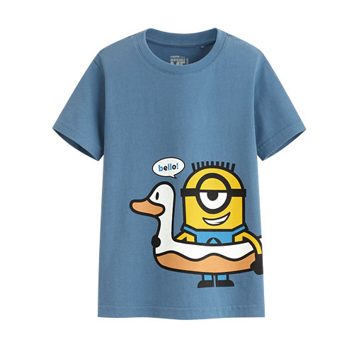 Despicable Me印花T恤-06-童