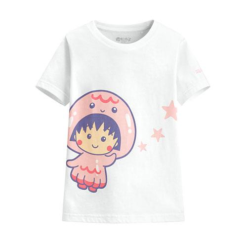 櫻桃小丸子印花T恤-11-童