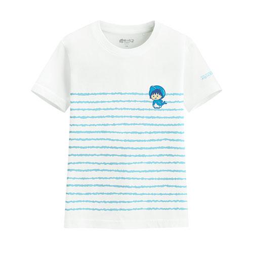 櫻桃小丸子印花T恤-12-童