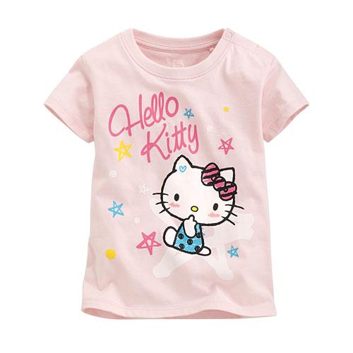 Hello Kitty印花T恤-02-Baby