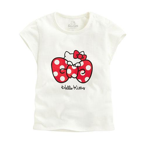 Hello Kitty包袖印花T恤-06-Baby