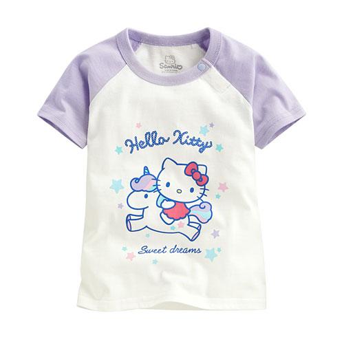 Hello Kitty印花T恤-08-Baby