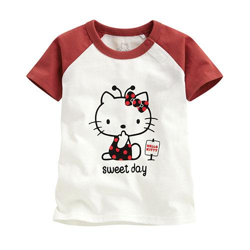 Hello Kitty印花T恤-09-Baby