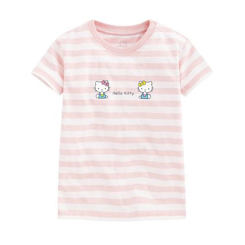 Hello Kitty條紋印花T恤-11-Baby