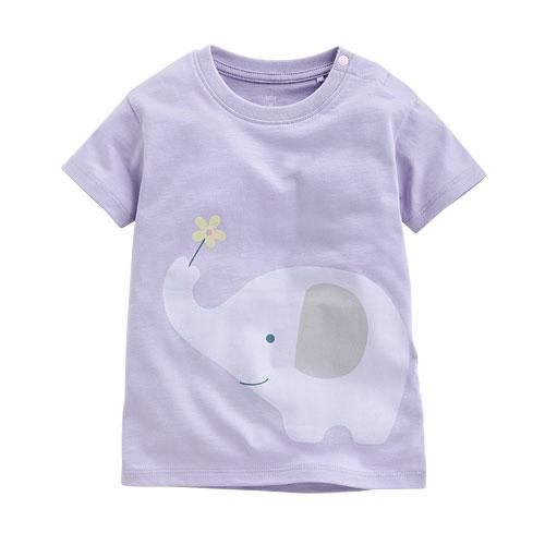 大象印花T恤-Baby