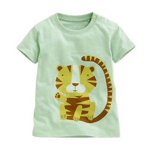 老虎印花T恤-Baby