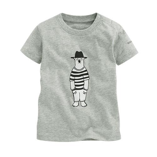 Polar Bear Benjamin印花T恤-03-Baby