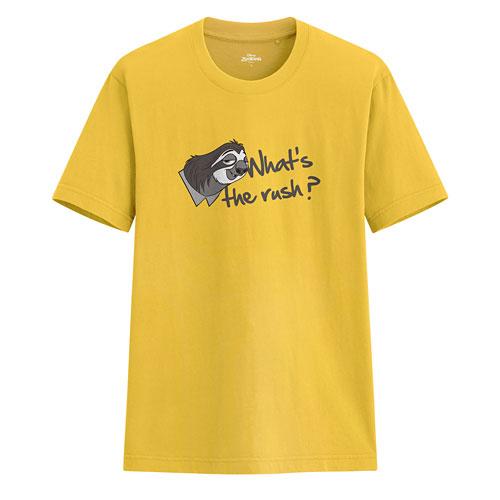 迪士尼系列印花T恤-61-男