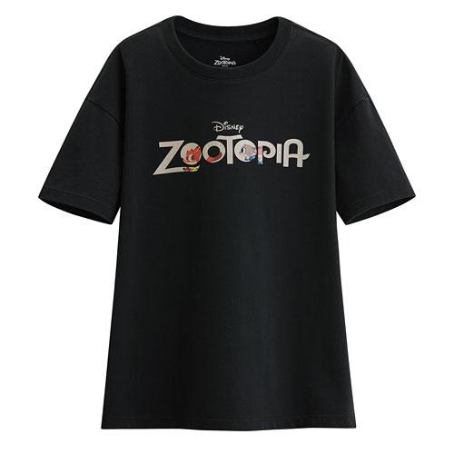 迪士尼系列寬版印花T恤-56-女