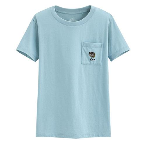 迪士尼系列口袋印花T恤-72-女