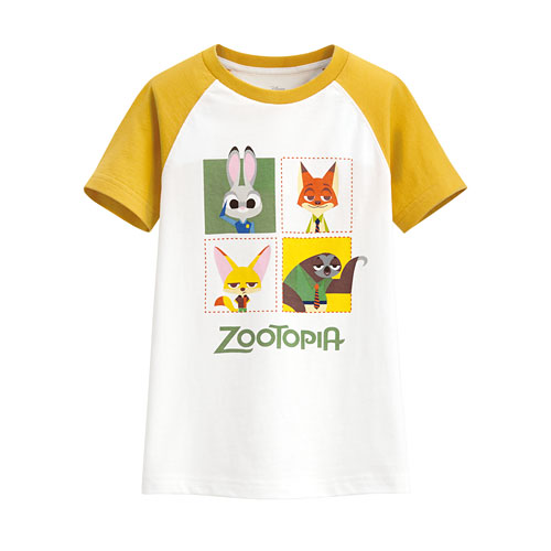 迪士尼系列印花T恤-77-童