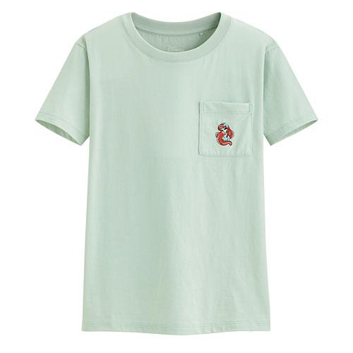 迪士尼系列口袋印花T恤-74-女