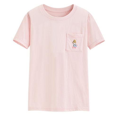 迪士尼系列口袋印花T恤-76-女