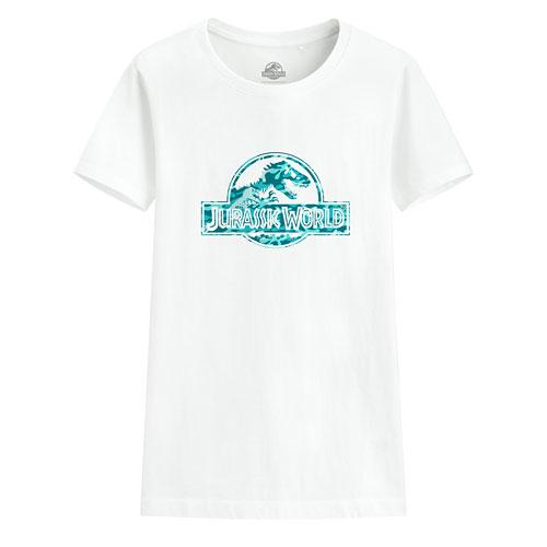Jurassic World印花T恤-11-女