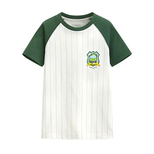 TAYO The Little Bus印花T恤-10-童