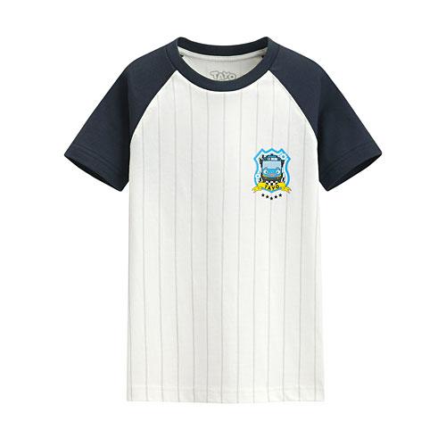 TAYO The Little Bus印花T恤-09-童