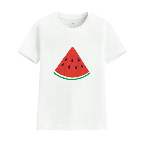 夏日西瓜印花T恤-童