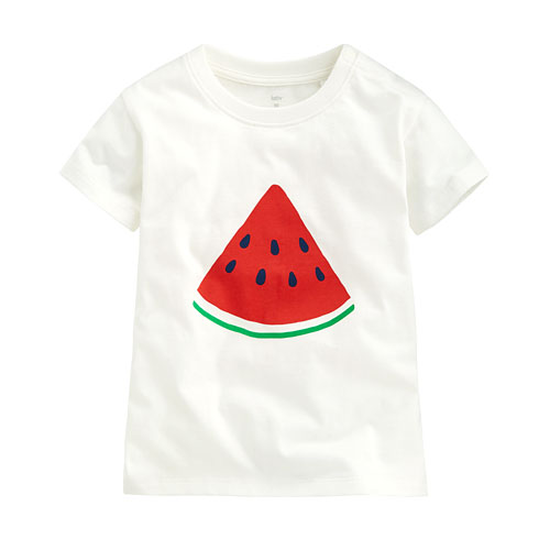 夏日西瓜印花T恤-Baby