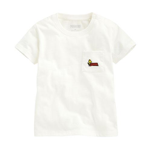史努比口袋印花T恤-04-Baby