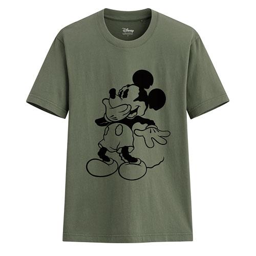 迪士尼系列印花T恤-78-男