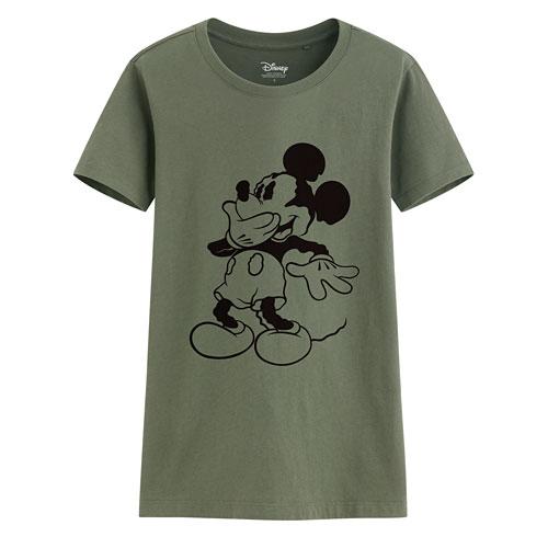 迪士尼系列印花T恤-78-女
