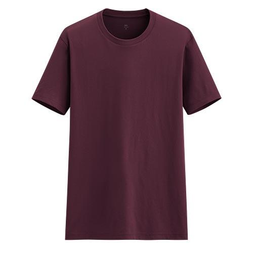 Pima 棉圓領T恤-男