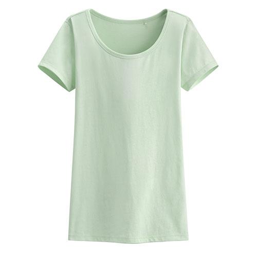 快乾棉大圓領T恤-女