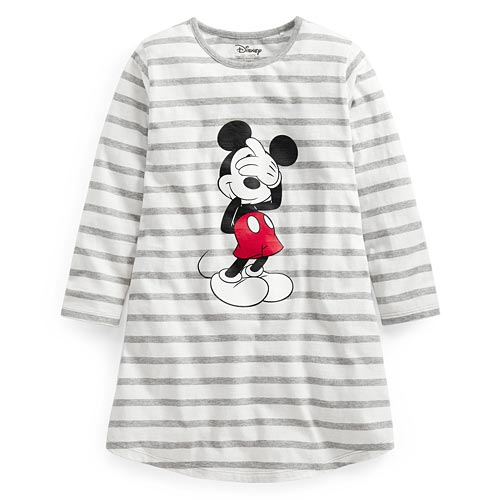 迪士尼系列竹節棉長版衫-童
