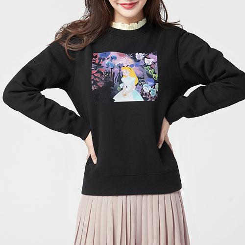 迪士尼系列刷毛圓領衫-04-女