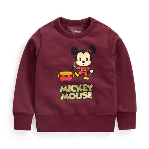 迪士尼系列毛圈圓領衫-02-童