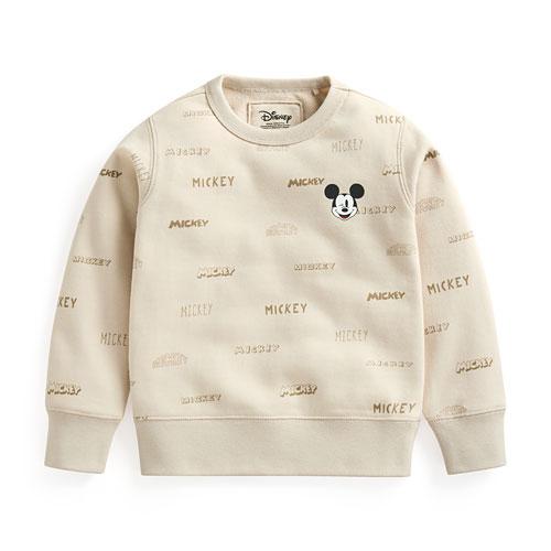 迪士尼系列毛圈圓領衫-03-童