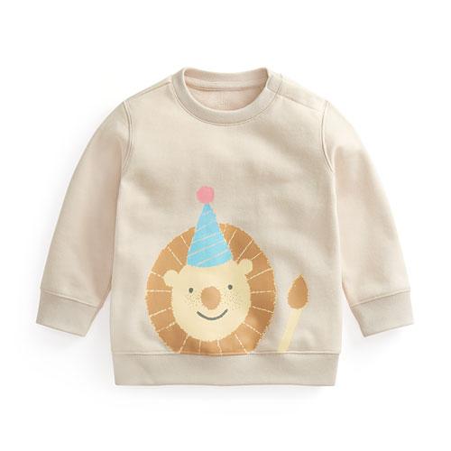 毛圈印花圓領衫-Baby