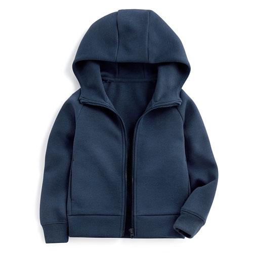 運動空氣層連帽外套-童