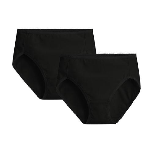 棉質中腰內褲(2入)-女