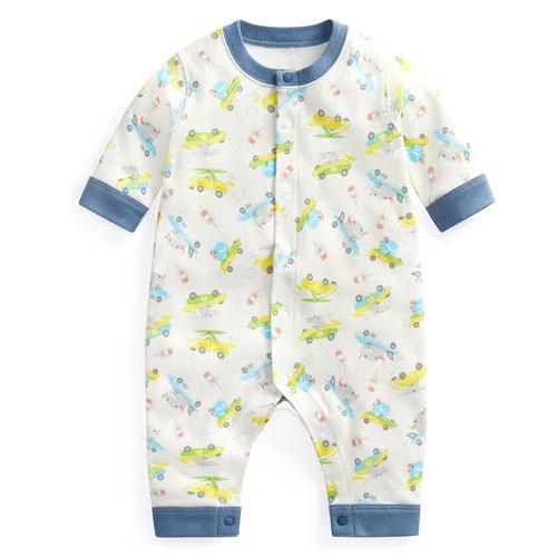 羅紋印花連身衣-Baby